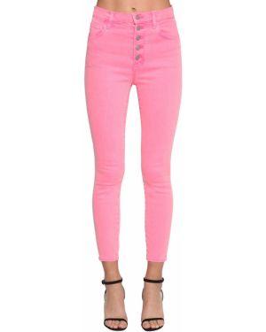 Пляжные джинсы-скинни на пуговицах с пайетками J Brand