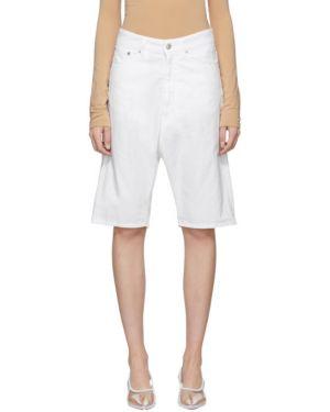 Джинсовые шорты с карманами классические Mm6 Maison Margiela