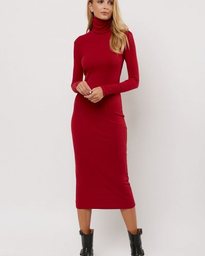 Платье красный осеннее Verna Sebe