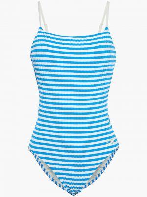 Купальник в полоску - синий Solid & Striped