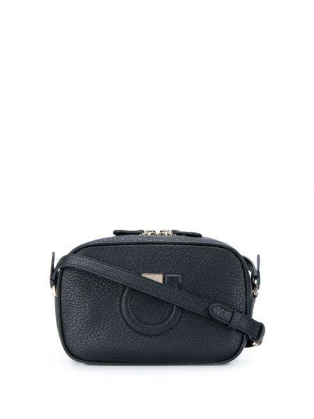Кожаная сумка через плечо шоппер Salvatore Ferragamo