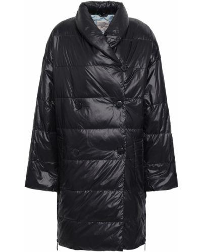 Черная стеганая куртка двубортная Baum Und Pferdgarten