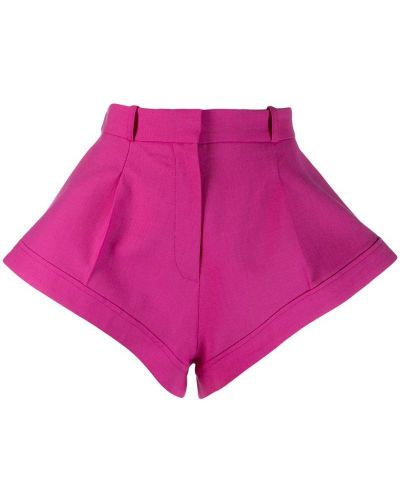 Розовые шорты с карманами Jacquemus