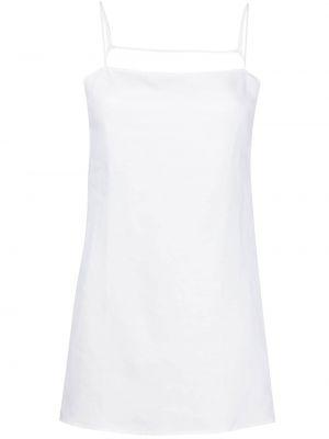 Платье мини с вырезом - белое Reformation