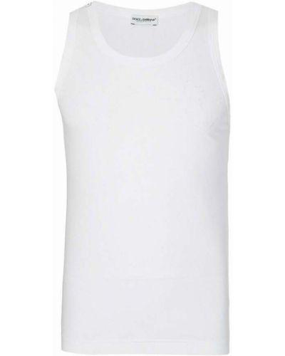 Kamizelka sportowa - biała Dolce And Gabbana