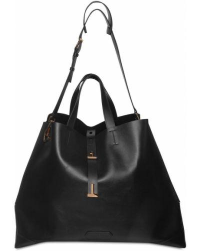 Кожаная сумка - черная Tom Ford