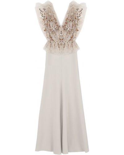 Вечернее платье макси приталенное Jenny Packham