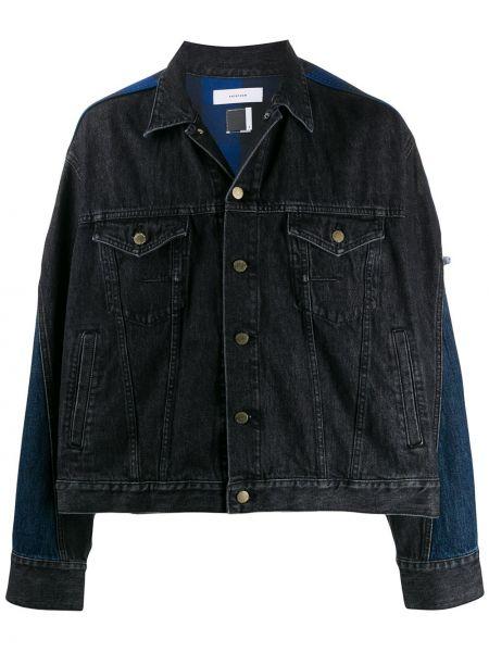 Klasyczne czarne jeansy bawełniane Facetasm