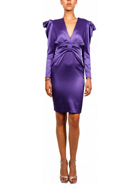 Fioletowa sukienka Hanita