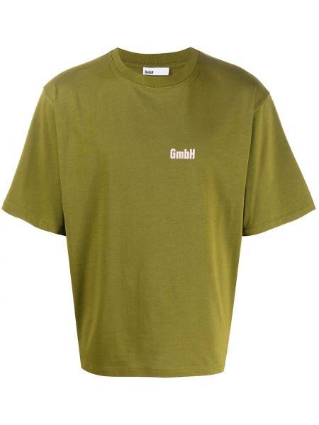 Koszula krótkie z krótkim rękawem z logo prosto Gmbh