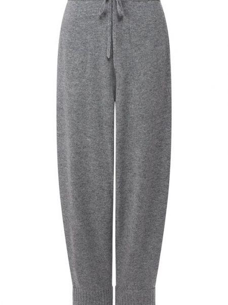 Кашемировые серые брюки Tegin