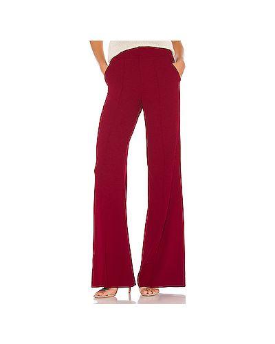 Свободные брюки в рубчик с карманами Alice + Olivia