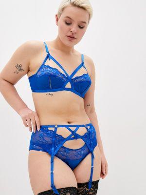 Трусы - синие Dita Von Teese