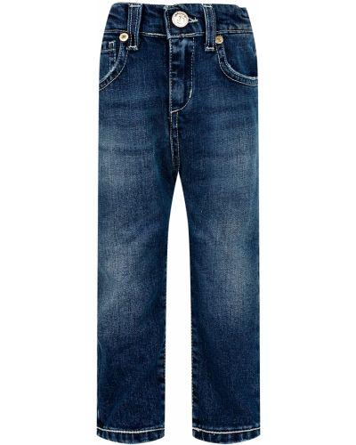 Хлопковые джинсы - синие Byblos