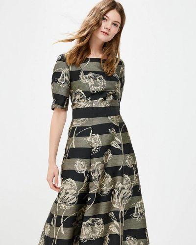 Вечернее платье серое осеннее Vemina City Lisa Romanyk