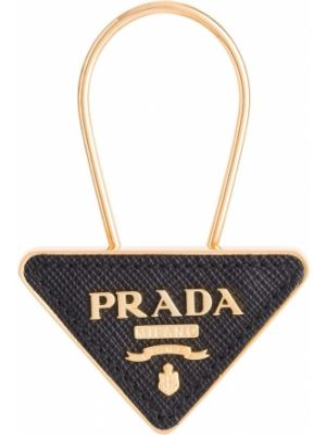 Брелок с логотипом Prada