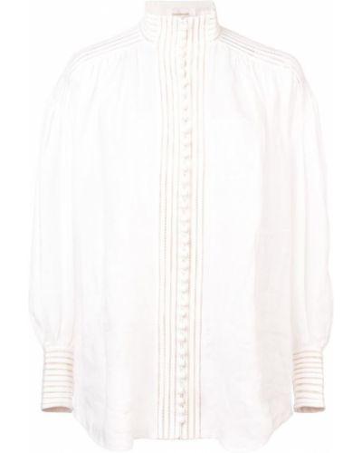 Рубашка с длинным рукавом белая на пуговицах Zimmermann