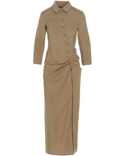 Sukienka - beżowa Jacquemus