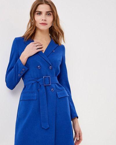 Платье платье-пиджак синее Gold Chic Chili