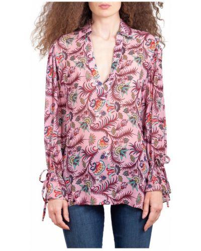 Różowa koszula Maesta