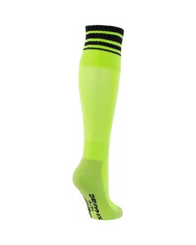 Футбольные зеленые хлопковые спортивные носки Demix