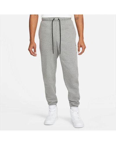 Серые брюки в цветочный принт Jordan