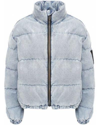 Хлопковая джинсовая куртка - синий Denim X Alexander Wang