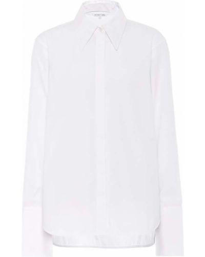 Рубашка белая без воротника Helmut Lang