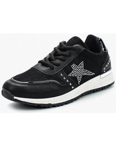 Черные кроссовки замшевые Saivvila