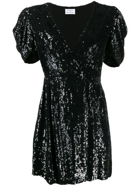 Платье с пайетками с вышивкой P.a.r.o.s.h.