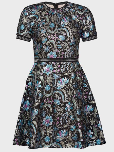 Хлопковое платье на молнии с подкладкой Elliatt
