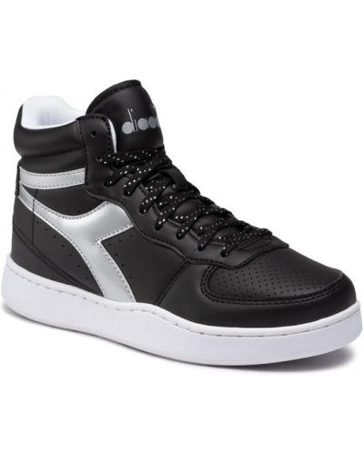 Sneakersy wysokie - czarne Diadora