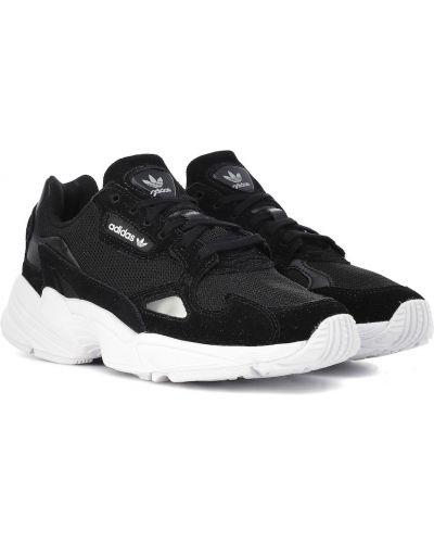 Skórzany sneakersy chudy zamszowe Adidas Originals