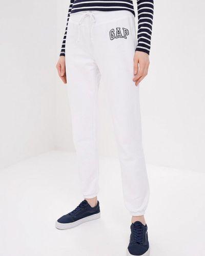 Спортивные брюки белые Gap