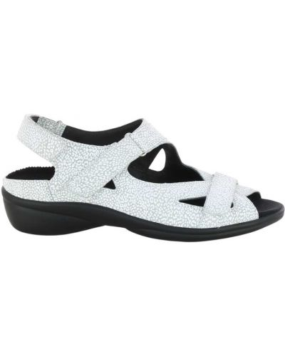 Białe sandały Durea