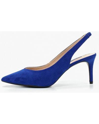Туфли с открытой пяткой велюровые Dorothy Perkins