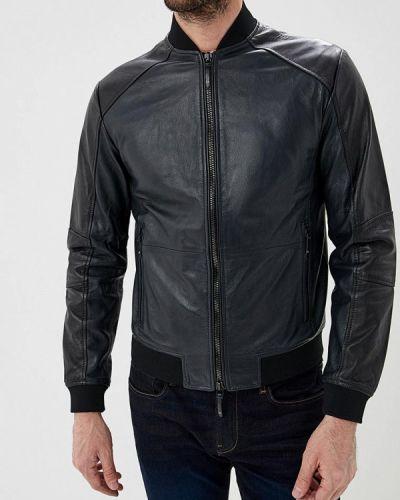 Кожаная куртка Armani Exchange