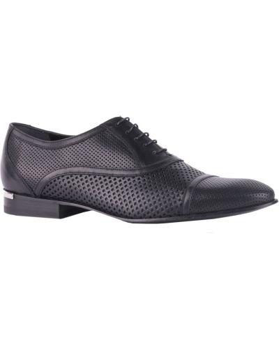 Черные туфли с перфорацией Richmond
