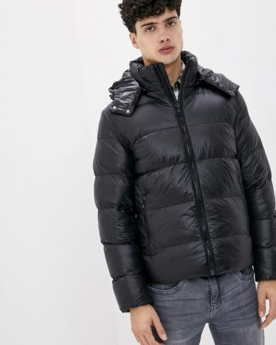 Черная утепленная куртка Chromosome