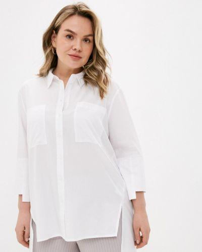 Белая рубашка с длинными рукавами Ulla Popken