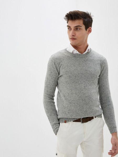Серый свитер Knitman
