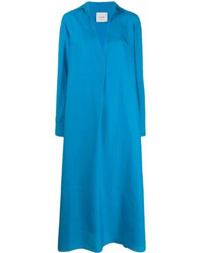 Платье с V-образным вырезом платье-рубашка Alysi