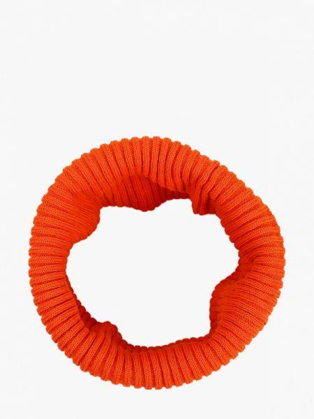 Оранжевый шарф Oxygon