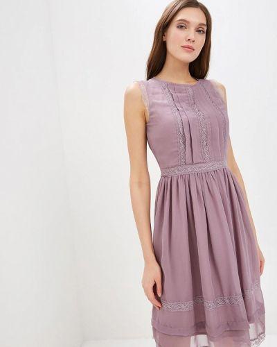 Вечернее платье синее Lusio
