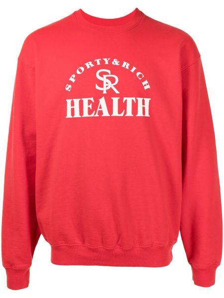 Sweter bawełniany Sporty And Rich
