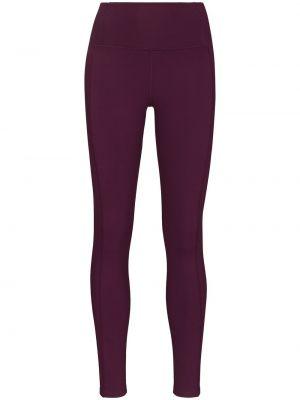 Fioletowe spodnie robocze Girlfriend Collective