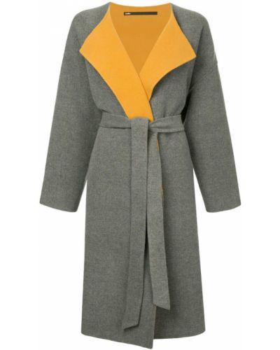 Длинное пальто с капюшоном Muller Of Yoshiokubo