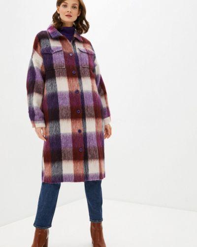 Фиолетовое пальто Unq