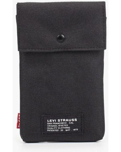 Текстильная сумка через плечо - черная Levi's®