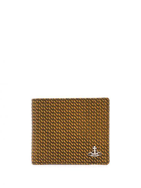 Brązowy portfel skórzany Vivienne Westwood